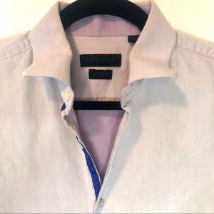 Andrew Fezza Lilac Slim Fit Men's Dress Shirt